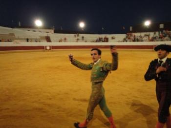 João Martins saiu em ombros em Aracena (Espanha)