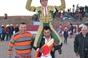 Imagens dos últimos triunfos de Casquinha no Peru