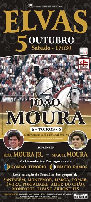 Corrida Comemorativa dos 35 anos de Alternativa de João Moura