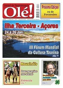 Jornal Olé 317 -  Hoje Nas bancas Quarta-feira, 22 Janeiro 2014