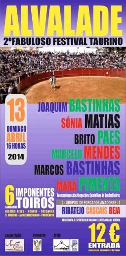 Festival Taurino em Alvalade do Sado