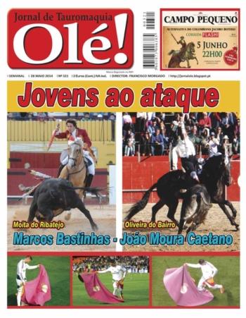 Jornal Olé nº321 - nas bancas 4ª feira dia 28 de Maio