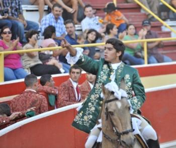 Miguel Moura na Feira de Salamanca