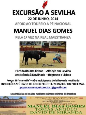 Sector 1 realiza excursão a Sevilha por Manuel Dias Gomes