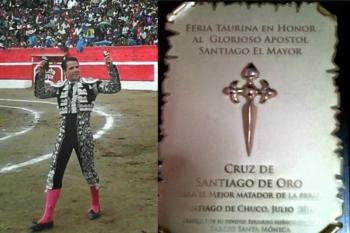 Cruz de Santiago de Oro para Diogo dos Santos