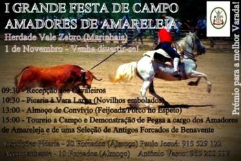I Grande Festa de Campo dos Amadores de Amareleja