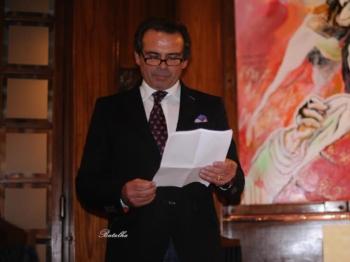 Joaquim Bastinhas recebeu o troféu para o cavaleiro triunfador da temporada, atribuído pela tertúlia