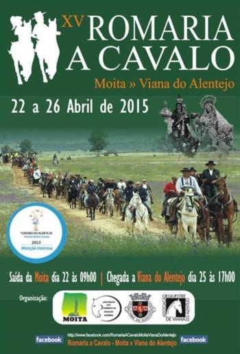 XV Romaria a Cavalo Moita - Viana do Alentejo
