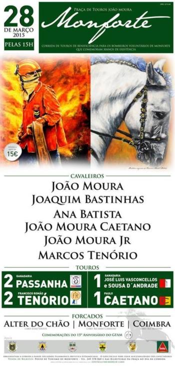 Cartaz da Corrida de Monforte