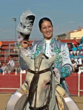 Cavaleira Ana Rita já regressou aos treinos