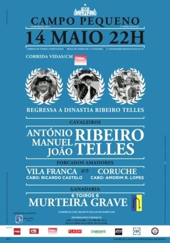 Bilhetes para a corrida da dinastia Ribeiro Telles já à venda em todo o país