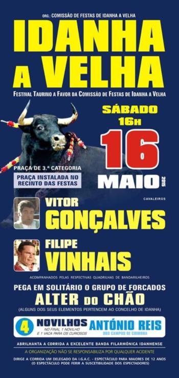 Cartaz de 16 de Maio em Idanha-a-Velha