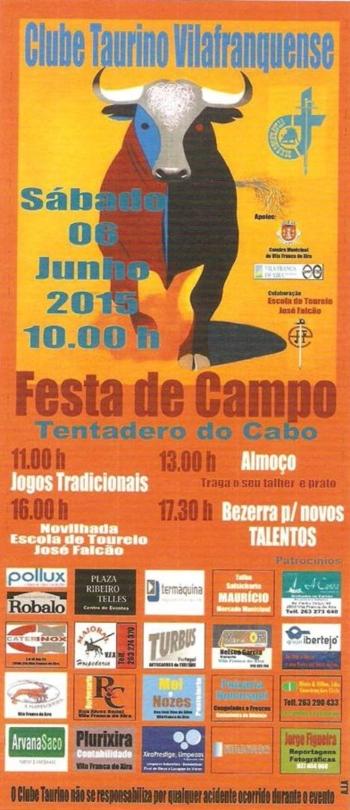 Festa de Campo do Clube Taurino Vilafranquense