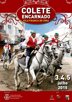Colete Encarnado - Festa maior do Ribatejo de 3 a 5 de julho em Vila Franca de Xira