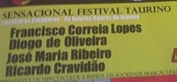 Festival taurino a 16 de Agosto em Amareleja
