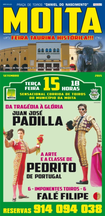 Moita, 15 de Setembro - Padilla mano-a-mano com Pedrito
