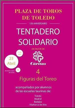 Vítor Mendes e Escola José Falcão no Tentadero em benefício da Cáritas em Toledo