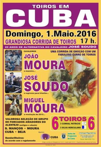 José Soudo comemora 20 anos de alternativa