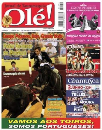 Edição 376 do Jornal Olé! Quinta-Feira nas Bancas
