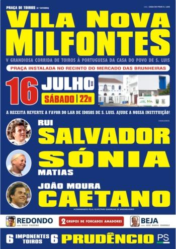 Tradicional corrida em Milfontes já tem cartel
