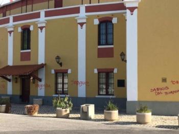 Vandalismo anti-taurino em Vila Franca