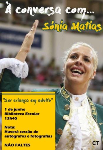 Sónia Matias nas comemorações do Dia Mundial da Criança