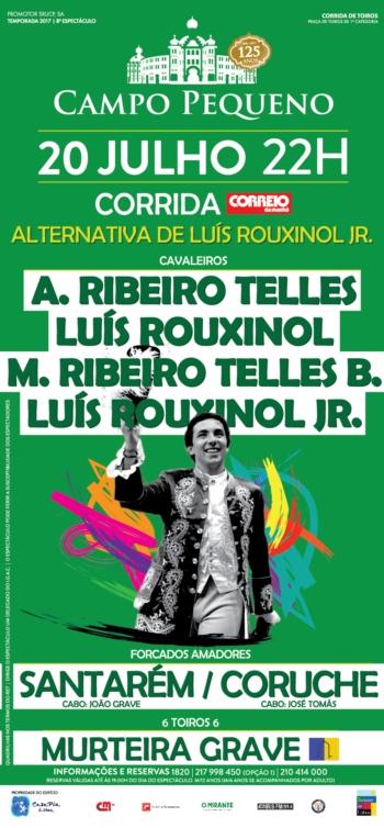 Corrida de alternativa de Rouxinol Jr.
