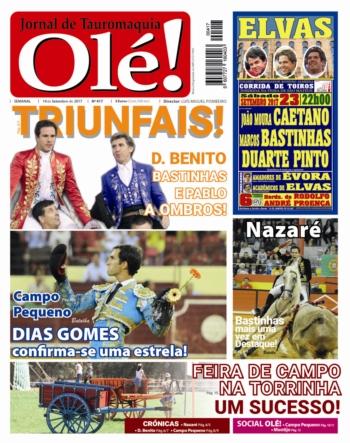 Jornal Olé! 417, hoje nas bancas
