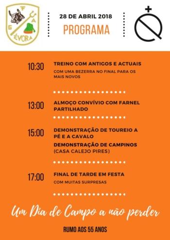 Dia de Campo - Grupo de Forcados Amadores de Évora