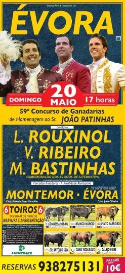 Concurso de ganadarias em Évora - 20 de maio