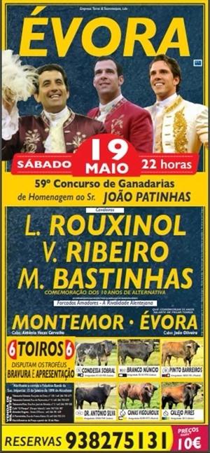 59º. Concurso de Ganadarias em Évora