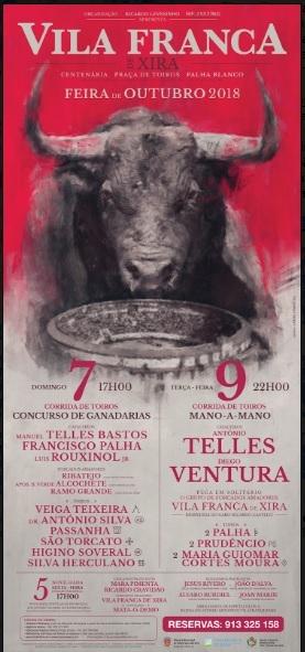 Cartéis da Feira de Outubro de Vila Franca