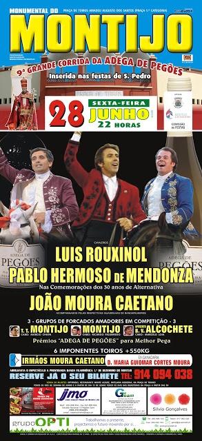 Pablo Hermozo e Diogo Amaro Triunfadores no Montijo