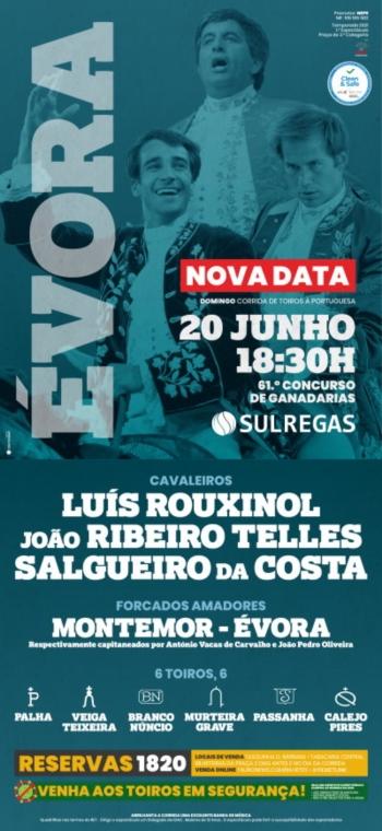 Concurso de Ganadarias de Évora já tem nova data